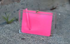 Swellmayde's DIY Clutch Project Can be Put Together for Pennies #coachella #diy trendhunter.com