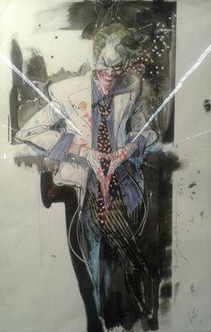The Joker by Bill Sienkiewicz *