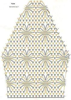 Blusas em Crochê com Gráficos da Web
