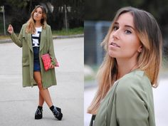 #buttonupdenimskirt #platformshoes #creepers #jeffreycampbell #outfit #look #fall #style #trends #streetstyle #casual #chic #fashion #mode #moda #blogger #spain #trendencies
