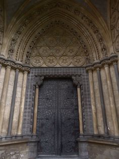 Door at Westminster Abbey. Katrina©B
