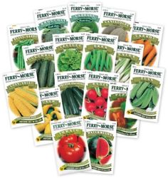 Ferry Morse Large Vegetable Garden $19.99 & eligible for FREE Super Saver Shipping  find more items like this at http://www.ddsgiftshop.com visit and like us on facebook here www.facebook.com/pages/DDs-Gift-Shop/113955198649056