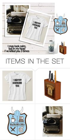"""Nanowrimo 2015"" by stine1online ❤ liked on Polyvore featuring art"