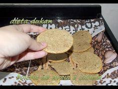 PRECISO TESTAR! Dieta dukan - bolacha de aveia e canela
