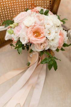 Rose Gold Bridal Bouquet
