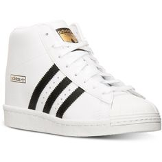 adidas Women\u0027s Superstar Up Casual Sneakers from Finish Line ($50) ? liked  on Polyvore