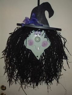 Agnes the hanging door witch. $32.95, via Etsy.