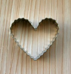 Fluted+Heart+Cookie+Cutter+by+sweetestelle+on+Etsy,+$2.25