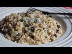 "Baked Mushroom Risotto - ""Cheater"" Oven Risotto Method - Perfect Everytime!"