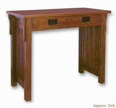 Mission Style Oak Finish Writing Desk by Waybourn. $370.27. Save 25% Off!