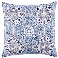 "Madura Lapis Decorative Pillow - John Robshaw Textiles - 20""x20"" - $150"