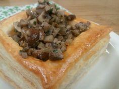 Mushroom Vol-au-vents: Stricktly Savory Pastry with PCCCooks.com