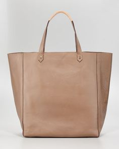 Ashleigh Tall Leather Shopper by Hunter Boot...simple + functional