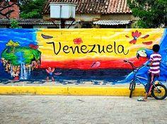 Bello Mural en La Vela Falcón, ¡Venezuela!