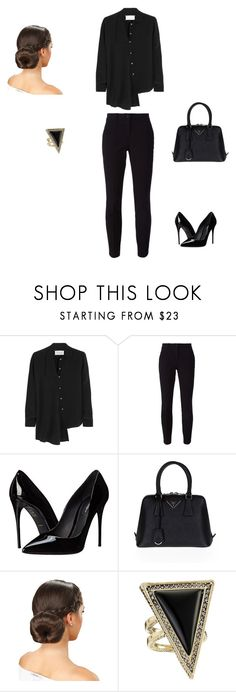 """Untitled #917"" by bibi35 ❤ liked on Polyvore featuring Maison Margiela, Dolce&Gabbana, Prada, House of Harlow 1960, women's clothing, women's fashion, women, female, woman and misses"