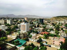 A view of Kabul city shot recently