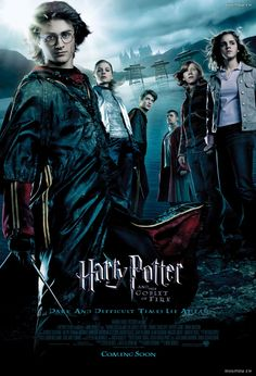 Day 2- Favorite Movie... The goblet of fire was really great, despite his crazy hair! #HarryPotter30daychallenge