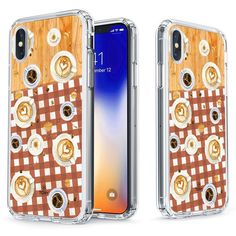 Coffee Break Slim Protective Case for iPhone X