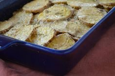 Rosemary Potato Gratin - Pam Anderson