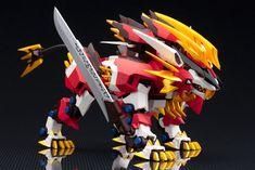 ZA (ZOIDS AGGRESSIVE) 1/100 Hayate Liger Action Figure Zoids Genesis, Zoids Toys, Mecha Anime, Robot Design, Anime Dolls, Pokemon Fusion, Gundam Model, Lego Creations, Light In The Dark