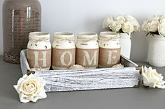 Rustic Home Decor,Housewarming Gift,Hostess Gift,Rustic Decor,Rustic Table…