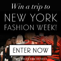 Win a Trip to #MBFW! Package includes round-trip airfare for 2, 2 nights @YotelNY, VIP Tickets to @TheCut's party, tickets to a @CFDA designer's runway show, $200 @uber credit to arrive in style and $500. Do you have an appetite for style? Enter now: tastingtable.com/nyfw2014