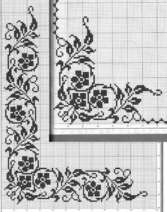 Thrilling Designing Your Own Cross Stitch Embroidery Patterns Ideas. Exhilarating Designing Your Own Cross Stitch Embroidery Patterns Ideas. Cross Stitch Borders, Cross Stitch Flowers, Cross Stitch Designs, Cross Stitching, Cross Stitch Embroidery, Embroidery Patterns, Cross Stitch Patterns, Filet Crochet Charts, Crochet Cross