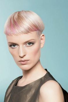 Reallusion by Goldwell | Check out more #hair collections at salonmagazine.ca #pink