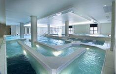 Aquatonic Spa in Paris offers Aquacycling