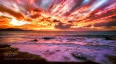 Seascape Sunset by DimitrisKoskinas. Please Like http://fb.me/go4photos and Follow @go4fotos Thank You. :-)