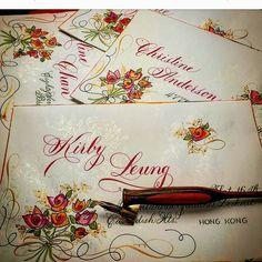 362 отметок «Нравится», 17 комментариев — F Phyllis Macaluso (@fpmmac) в Instagram: «#penmanship #penflourishing #penandink #pointedpen #copperplate #flourish #envelope #mail…»
