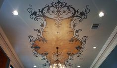 Ceilings « Painting | Faux Finishes | Murals | Cabinet Refinishing |