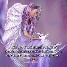 """Buuuunăăăăă diiiimiiiiineeeeeaaațaaaa!  """"Când nu-și mai găsește cuvintele sufletul primește aripi să se înalțe spre Cer unde și cele mai adânci tăceri capătă sens.""""  Duminică binecuvântată prieteni... oriunde v-ați afla! ____________ The most beautiful posts  Despre Oameni frumosi"""