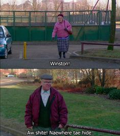 Bad feeling I will be Isa when I'm old! Still Game Comedy Series, Comedy Tv, Tv Series, Still Game Quotes, Jack And Victor, Keeping Up Appearances, Games Images, British Comedy, Islands