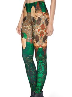 Mucha Emerald Toasties (US ONLY $64USD) by Black Milk Clothing - LARGE