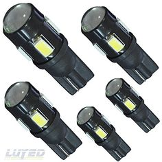 LUYED 5 x T10 5630 6-smd 240 Lumens White Color W5W 194 168 2825 LED Bulbs used for Signal Lights, Trunk Lights, Dashboard Lights, Parking Lights LUYED http://www.amazon.com/dp/B017OXQUT0/ref=cm_sw_r_pi_dp_O9.wwb0FBJSZN
