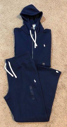89bd6a8d776263 NEW Polo Ralph Lauren Mens Sweat Suit Athletic Zip Hoodie   Pants Set 6  COLORS  139.95 End Date  2018-12-21 17 50 54