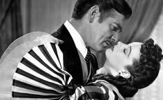 Vivien Leigh Gone with the Wind | Gone-with-the-Wind_Clark-Gable-Vivien-Leigh-BW