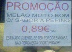 Só para quem tem porco em casa. | As 27 promoções mais safadas do Brasil