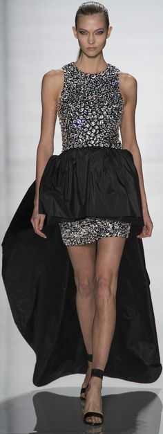 Evening gown, couture, evening dresses, formal and elegant Michael Kors AUTUMN/WINTER 2013 14