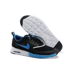 Nike Air Max Thea Mens Black Royal Blue Cheap Nike 5a11550996