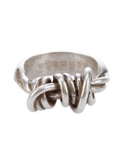 MAISON MARTIN MARGIELA 11, KNOTTED RING.