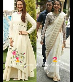 Purvi Doshi # white love # saree # Pallazo love # Sonakshi Sinha # Sonam Kapoor…