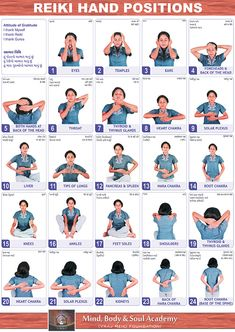 Acupressure Reiki, self healing, hand positions Chakras Reiki, Le Reiki, Reiki Healer, Reiki Meditation, Meditation Music, Meditation Hand Positions, Kundalini Yoga, Reiki Therapy, Massage Therapy