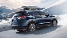 Nissan Rogue SL AWD shown in Arctic Blue Metallic with optional equipment Nissan Rogue 2015, Nissan Rogue Select, Nissan Rouge, Geneva Motor Show, Fuel Economy, Rogues, The Row, Bmw, Vehicles