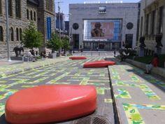 Extrait du texte Incroyable ville de tous les possibles: Rue du Musée (Musée des Beaux-Arts de Montréal MBAM)