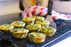 Breaking the Fast: Egg and Spinach Frittata Muffins | A Girl in the South