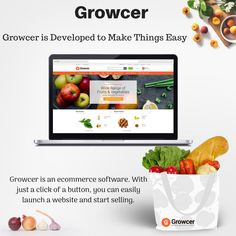 For those entrepreneurs who are looking to enter in grocery business, the best possible choice is definitely the powerul turnkey solution called Growcer. Grocery Shopping App, Online Grocery Store, Shopping Stores, Ecommerce Software, Ecommerce Store, Delivery App, Ecommerce Platforms, Food Labels, Media Marketing