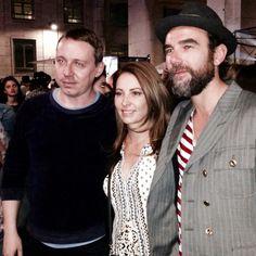Stefano Seletti, Pare Vitale and I at the Toiletpaper Party Piazza Affari