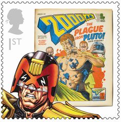 The Royal Mail has issued ten new stamps celebrating some of the best-known characters from British comics. The stamps are timed to coincide with the 75th anniversary of The Dandy